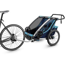 Thule Chariot Cross 2 Polkupyörän perävaunu, thule blue/poseidon